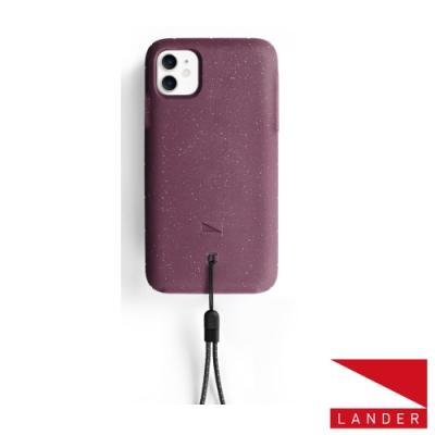 美國 Lander iPhone 11 Moab 防摔手機保護殼 - 莓果紫 (附手繩)