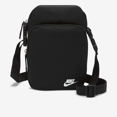 Nike HERITAGE CROSSBODY -  FA21 側背小包-黑-DB0456010