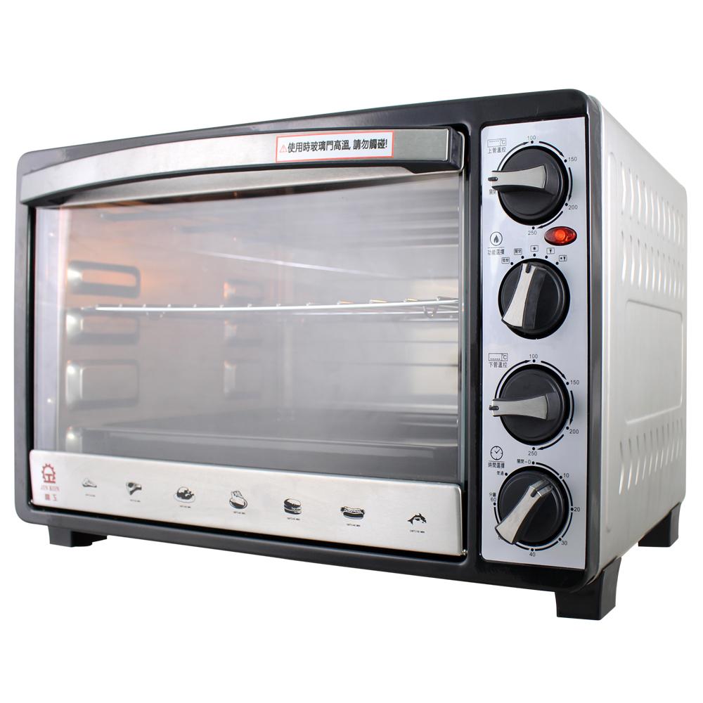 晶工牌30L雙溫控不鏽鋼旋風烤箱 JK-7303