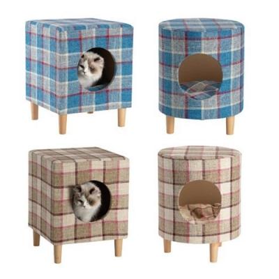 寵物《舒適多功能椅凳木窩》四款可選-貓/小型犬皆適宜
