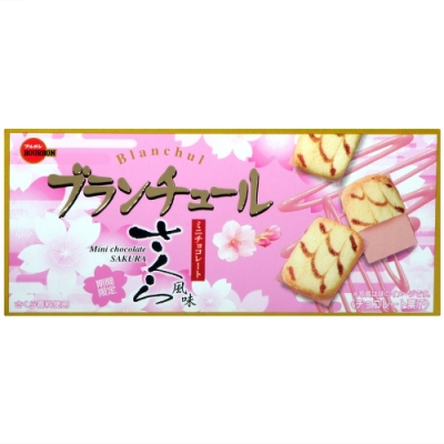 北日本 Blanchul巧克力風味餅[櫻花風味](42g)
