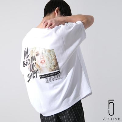 熱壓印刷杜爾曼T(3色) ZIP日本男裝