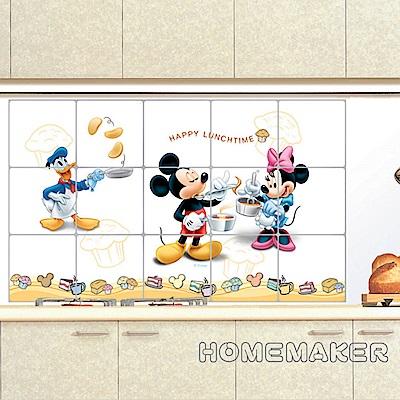 韓國廚房壁飾貼片-米奇米妮唐老鴨 1入_HS-ALM02