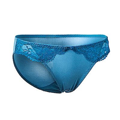 黛安芬-水感動魔術系列低腰內褲 M-EL(珊瑚藍)