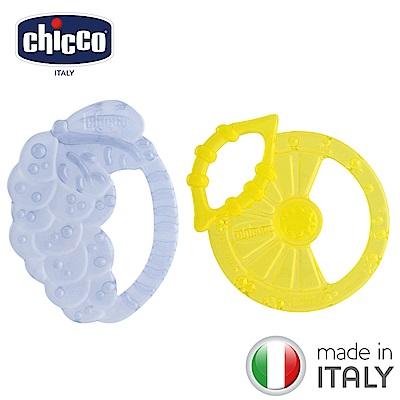 chicco-水果輕量矽膠固齒玩具2入