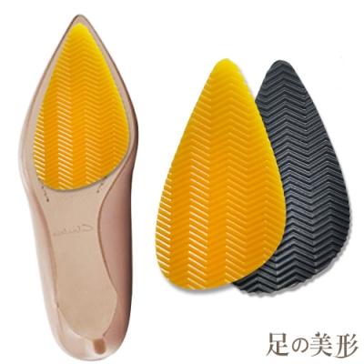 任選-足的美形 台灣製3M尖頭鞋底防滑貼 (1雙)