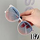 BeLiz 點點鉚釘 時尚中大兒童太陽眼鏡 漸層粉藍