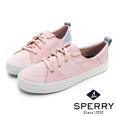 SPERRY BIONIC 撞色縫線拼接休閒鞋(女)-粉色