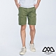 MYVEGA MAN工裝撞色裝飾線短褲-綠 product thumbnail 1