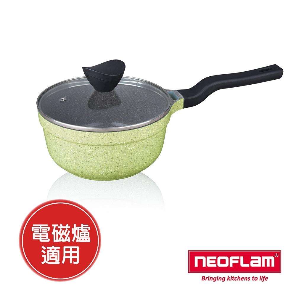 韓國 NEOFLAM Reverse 彩色大理石18cm單柄湯鍋(適用電磁爐)
