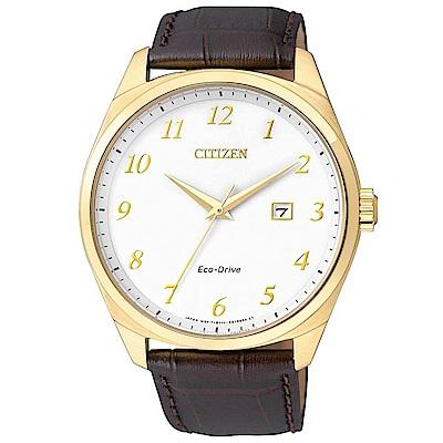 CITIZEN 時尚風格光動能腕錶(BM732-06A)