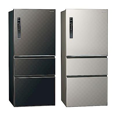[無卡分期12期]Panasonic國際牌 三門 變頻 電冰箱 NR-C619HV