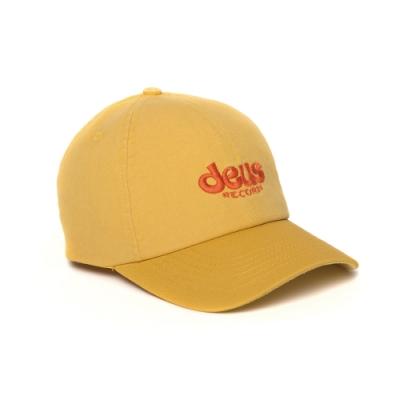Deus Records Smile Cap-棒球帽 - 黃(男/女)