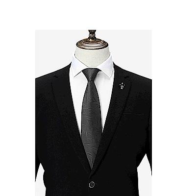 拉福   領帶8cm寬版雪片領帶拉鍊領帶