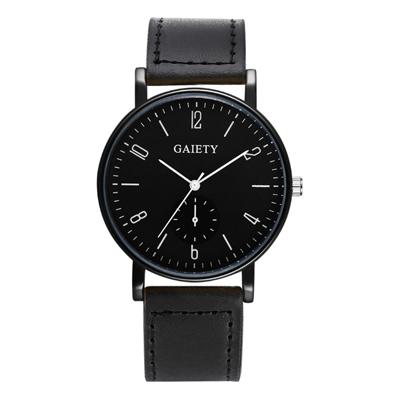 Watch-123 倫敦優雅風格裝飾秒針時尚手錶 (3色任選)