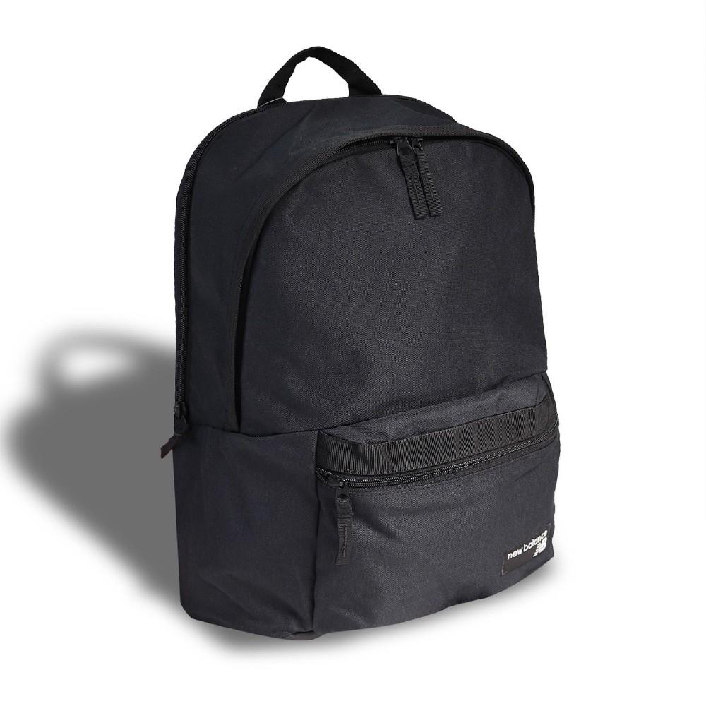 New Balance 後背包 NB Backpack 男女款 紐巴倫 雙肩背包 上學 基本款 黑 白 EQ03070MBKW