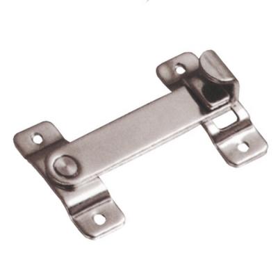 LAH-3 不鏽鋼平閂鎖/門栓/白鐵打掛鎖/卡式門閂/簡易門閂鎖
