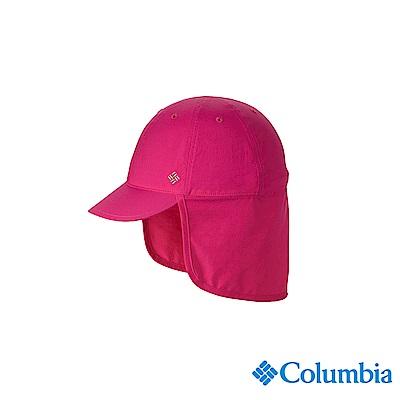 Columbia 哥倫比亞 兒童-UPF50快排遮陽帽-桃紅 UCY95070FCFDS