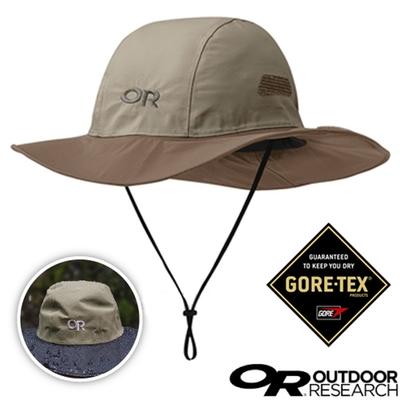 Outdoor Research Seattle Sombrero 熱賣款 GORE-TEX防風防水遮陽圓盤帽(可變造型).大盤帽.牛仔帽_卡其
