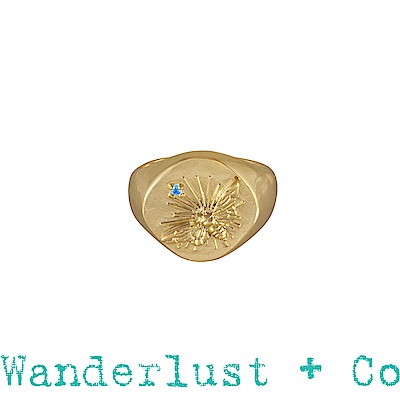 Wanderlust + Co蜜蜂戒指