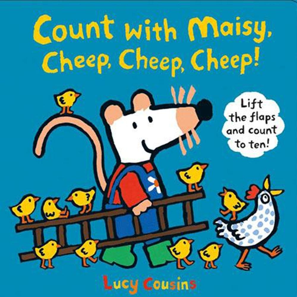 Count With Maisy,Cheep,Cheep,Cheep!和波波一起學算數