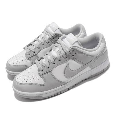 Nike 休閒鞋 Dunk Low Retro 運動 男女鞋 經典款 復刻 皮革 舒適 穿搭 滑板 白 灰 DD1391-103
