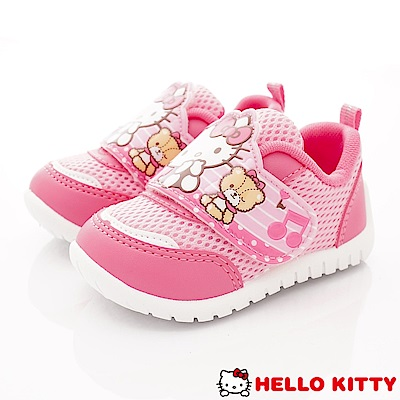 HelloKitty童鞋 透氣輕量運動款 SE18714桃粉(小童段)