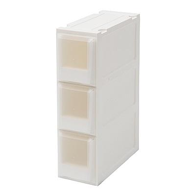 完美主義 三層衣物收納箱/隙縫櫃/塑膠櫃/抽屜櫃