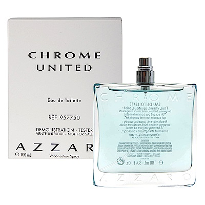 Azzaro Chrome 海洋鉻元素男性淡香水 100ml tester