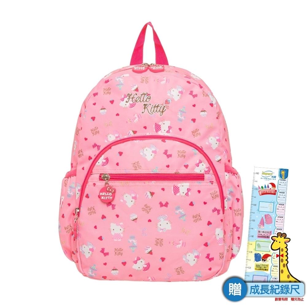 【 HELLO KITTY】夢幻樂園-後背包(大) 粉紅 KT02C02PK