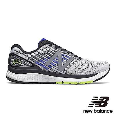 New Balance 穩定跑鞋 M860WB9-2E 男 白