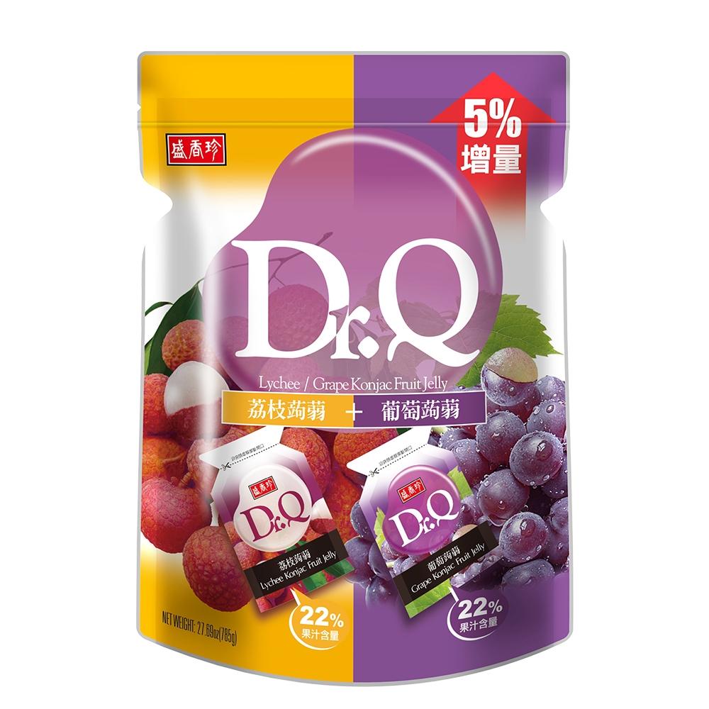 盛香珍 Dr. Q雙味蒟蒻(葡萄+荔枝)785g/包