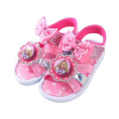 女童台灣製LICCA閃燈涼鞋 sa90193 魔法Baby