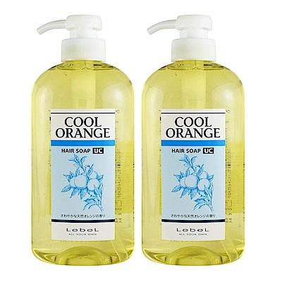 *LebeL 橘子配方洗髮精(酷涼型UC)600ml*2入