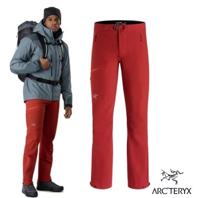 Arcteryx 始祖鳥 男 Sigma AR 軟殼長褲 熱能紅
