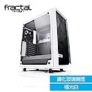 【Fractal Design】 Meshify C - TG 極光白 鋼化玻璃透側電腦機殼