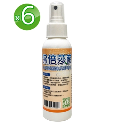 荃盛 保倍莎菌噴劑6入組(100ml/瓶)