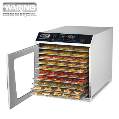 Waring威力 商用型數位式十層低溫乾果機/果乾機 WDH10 (全機不鏽鋼)