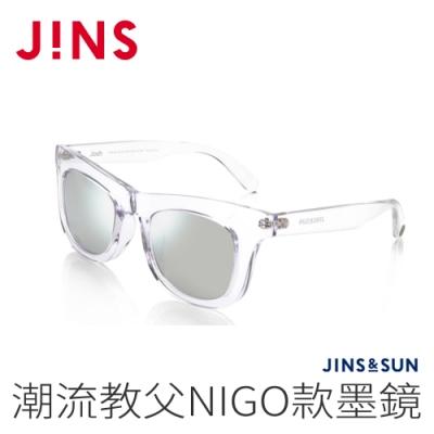 JINS&SUN 潮流教父NIGO款墨鏡(AMRF20A052)透明