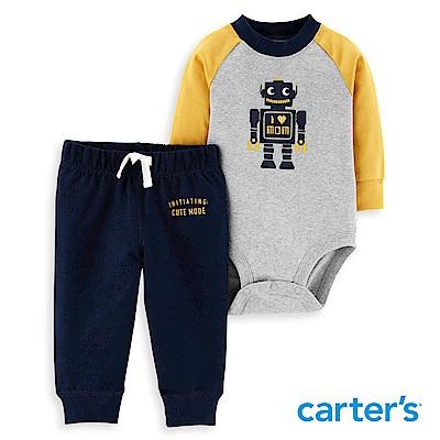 Carter's 機器人拼色二件組套裝