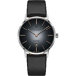 Hamilton 漢米爾頓 AMERICAN CLASSIC 經典機械錶-漸層灰/42mm