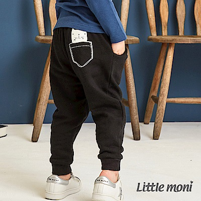 Little moni 雙層加厚長褲(共2色)