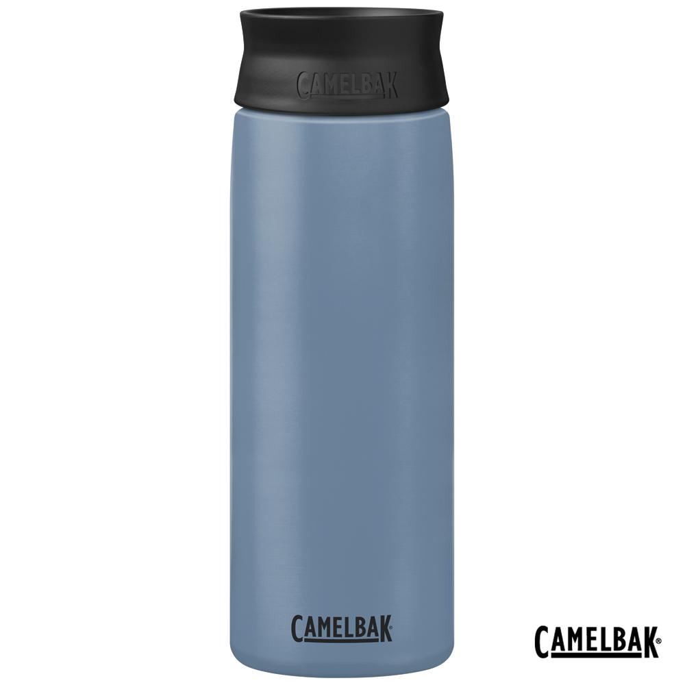 【美國 CamelBak】600ml Hot Cap 360° 保冰/溫隨行杯 灰藍