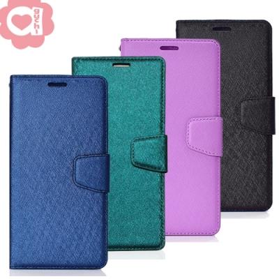 Apple iPhone 12 Pro Max (6.7吋) 蠶絲紋月詩時尚皮套 多層次插卡功能 表面特殊處理 防刮耐磨 側掀磁扣手機殼/保護套-藍綠紫黑