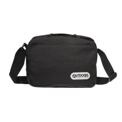 【OUTDOOR】極簡生活3.0-側背包-黑色 OD181118BK