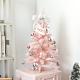 完美主義 粉紅聖誕樹/桌上型/交換禮物/耶誕裝飾品/聖誕節/2呎(小) product thumbnail 1