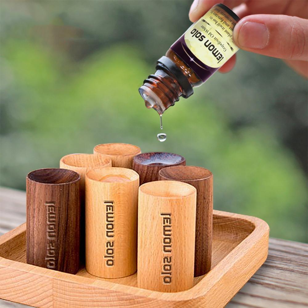 (7款)日式香氛原木擴香精油組 lemonsolo