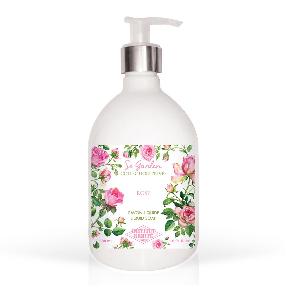 Institut Karite Paris 巴黎乳油木 玫瑰花園香氛液體皂500ml