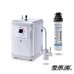 愛惠浦 雙溫加熱系統單道式淨水設備 SOLARIA II+PURVIVE-OW4PLUS