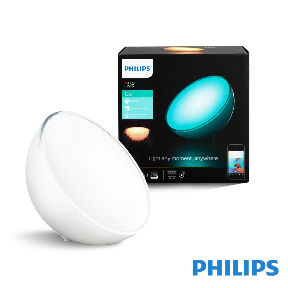 飛利浦 PHILIPS LIGHTING Hue無線智慧照明 LED彩色情境燈Go